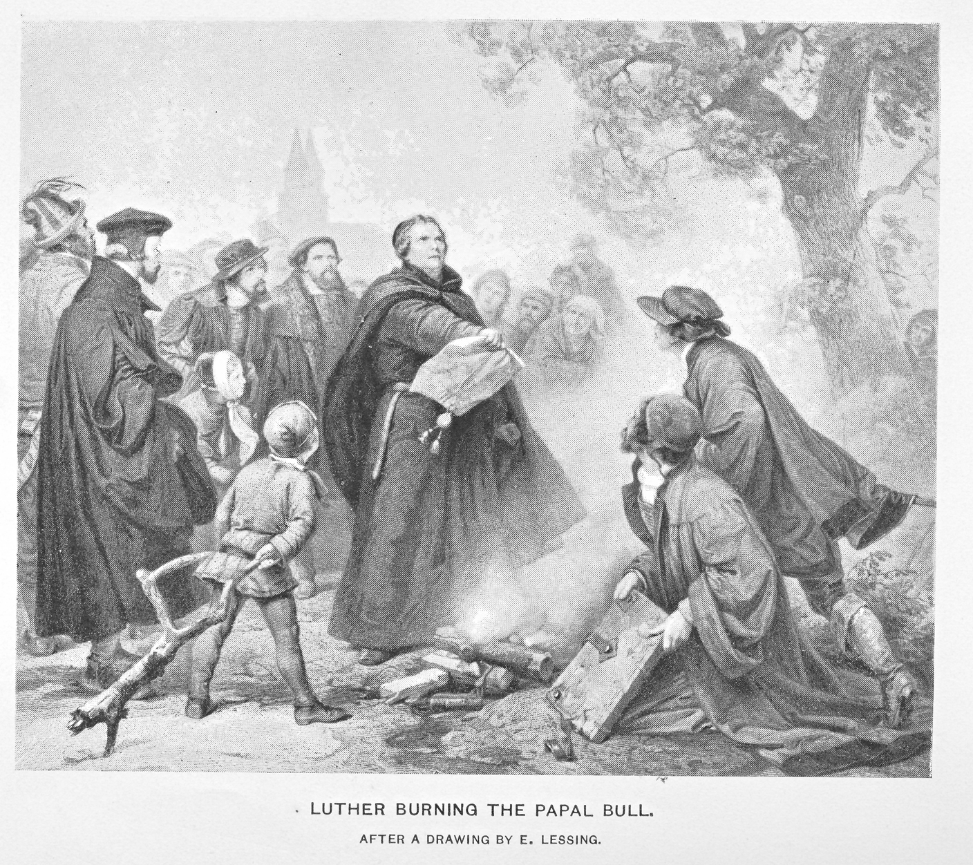 an analysis of the burning of martin luthers books Those burning books as an act of censorship on ideological from the early arabic and hebrew versions to the time of martin luther this made book burning.