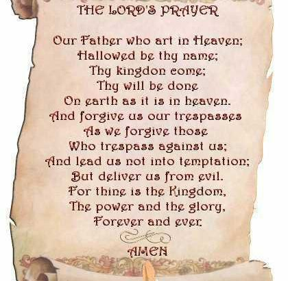 Lord's Prayer Image