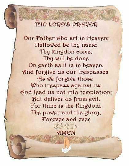 Lord's Prayer Image